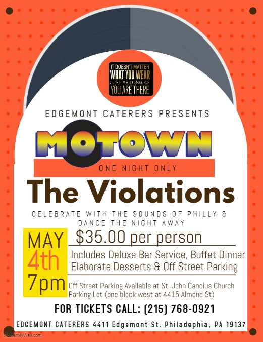 The Violations, Dinner Show, Events, Event